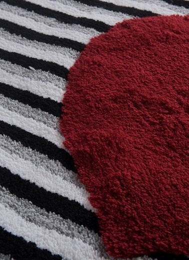 Chilai Home Heart Line Paspas 50x60 Cm Renkli
